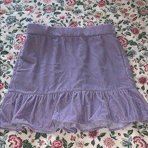 J. Crew Lilac Crushed Velvet Skirt- M